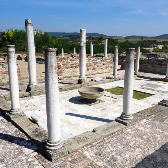 Felix Romuliana, ancient Roman king's palace near Zajecar in Serbia