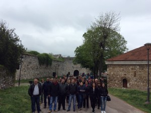 Bulgarian Group at Niš Fortress