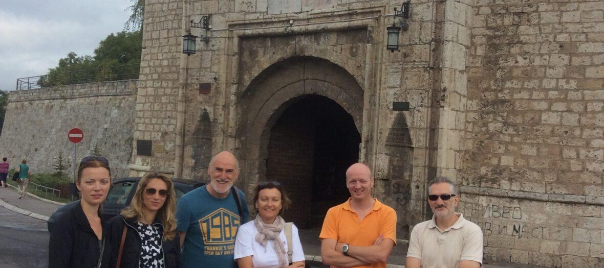 EU Delegation at Niš Fortress