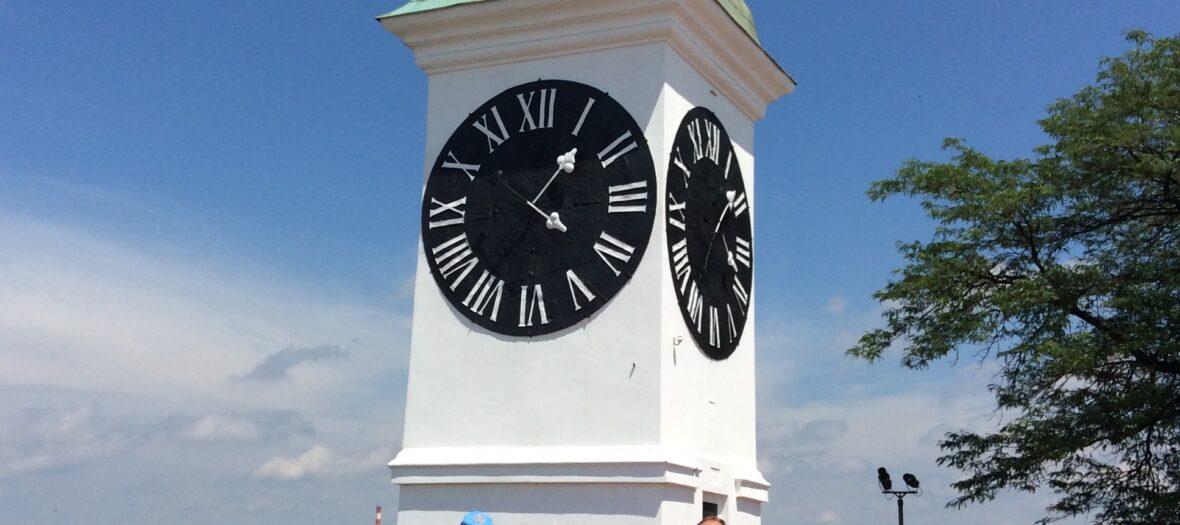 Bruxelles Delegation at Novi Sad Clock Tower