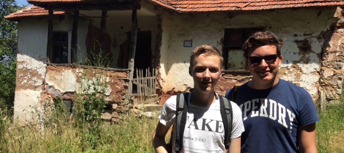 Gerben and Tiamen from Holland