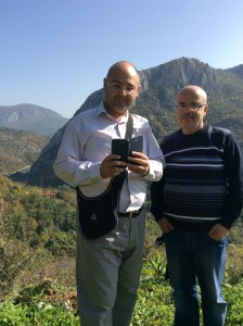 Guests from Jordan at Sićevo Gorge
