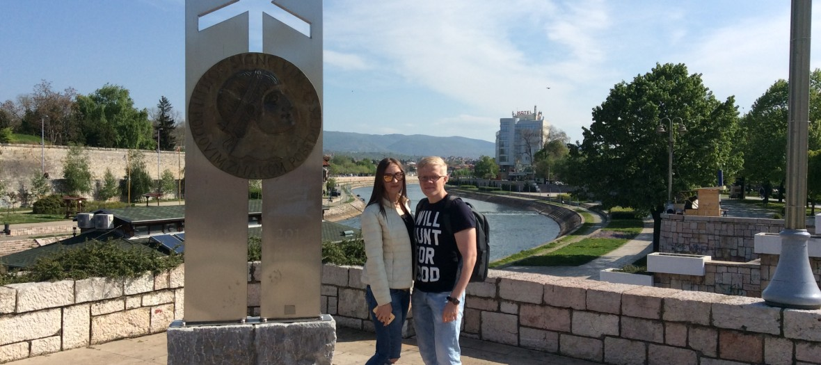 Ivan and Alioska from Russia