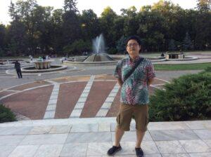 Kazuya from Japan in Niska Banja