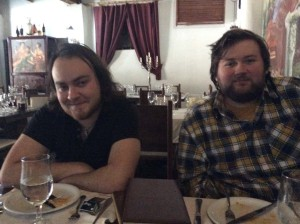 Simon & Robert from Bratislava